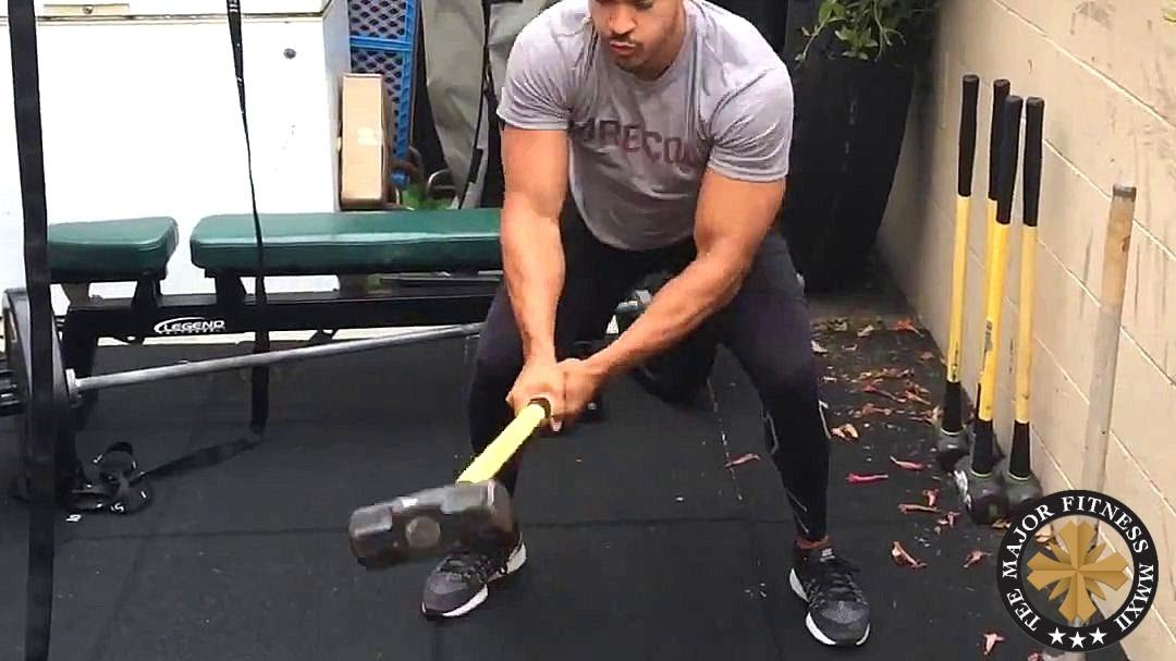 Intense Full Body Workout Sledgehammer And Tractor Tire Youtube
