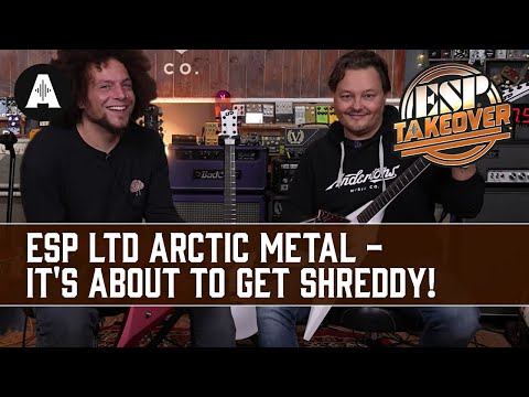 It's About To Get Shreddy! - ESP LTD Arctic Metal & Signature Guitars