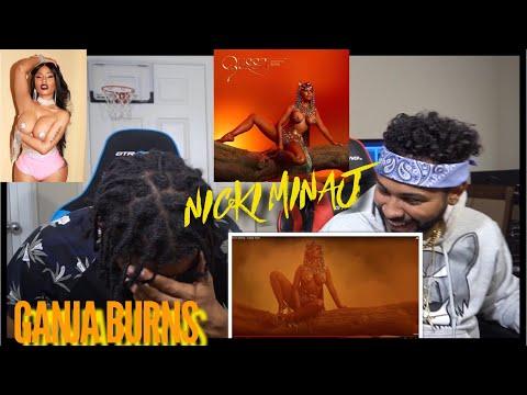 Omg Nicki 😍 Nicki Minaj - Ganja Burn | FVO Reaction