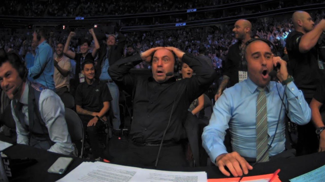 Download Commentator Reactions to UFC Upsets