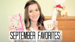 September Favorites 2014: Beauty, Music, TV + MORE! Thumbnail