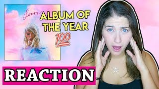 Taylor Swift - Lover Full Album Reaction