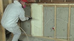 How to Install Spray Foam Insulation DIY