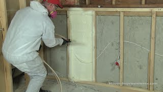 How to Install Spray Foam Insulation DIY