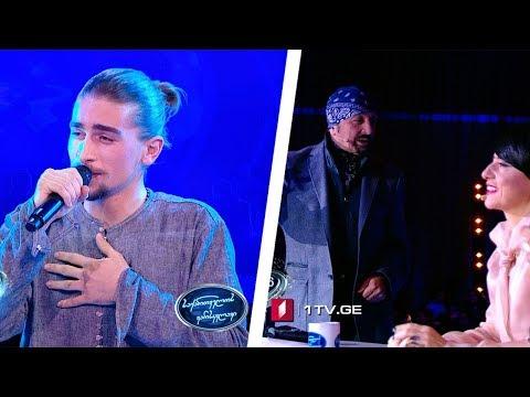 diseño superior envío gratis diseñador nuevo y usado Nika Kalandadze eliminated from Georgian Idol…as Tornike Kipiani ...