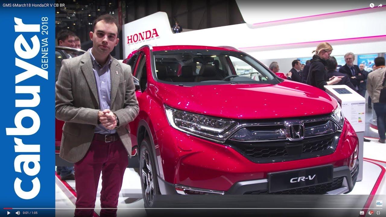2018 Honda CR-V walkaround and interior – Geneva Motor Show 2018 - Dauer: 66 Sekunden