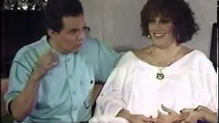 JOSE JOSE Y SU ESPOSA ANEL PLATICAN DE SU MATRIMONIO CON SARI BERMUDEZ.