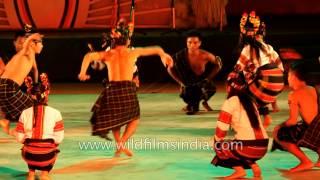 Gangte tribal dance from Manipur