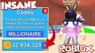 (Code) ALL UP TO DATE 2018 TWITTER MONEY CODES In Roblox Mining Simulator! 1000 $'s GRATUIT
