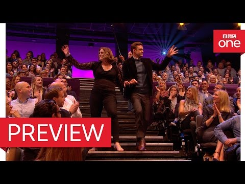 Justin Timberlake does the shopping cart dance: The Graham Norton Show 2016 - BBC One