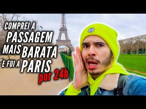 decidi viajar a PARIS por apenas 24 HORAS *loucura e correria*
