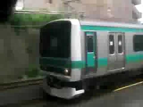 E231系 VS 203系 JR常磐線 Joban line rapid VS Local
