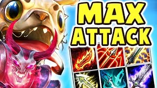 THIS DAMAGE IS NOT LEGAL!! 100% CRIT MAX ATTACK SPEED | THE BEST ADC 27 KILLS PUG'MAW DUO Nightblue3