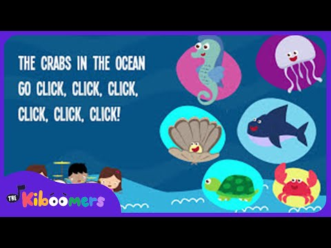 Animals In The Ocean | Kids Song | Lyrics | Nursery Rhyme | Animal Song