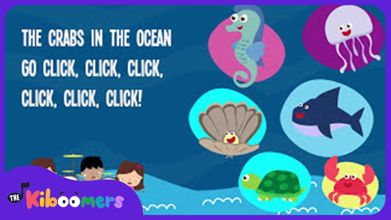 Animals In The Ocean | Kids Song | Lyrics | Nursery Rhyme | Animal Song    YouTube