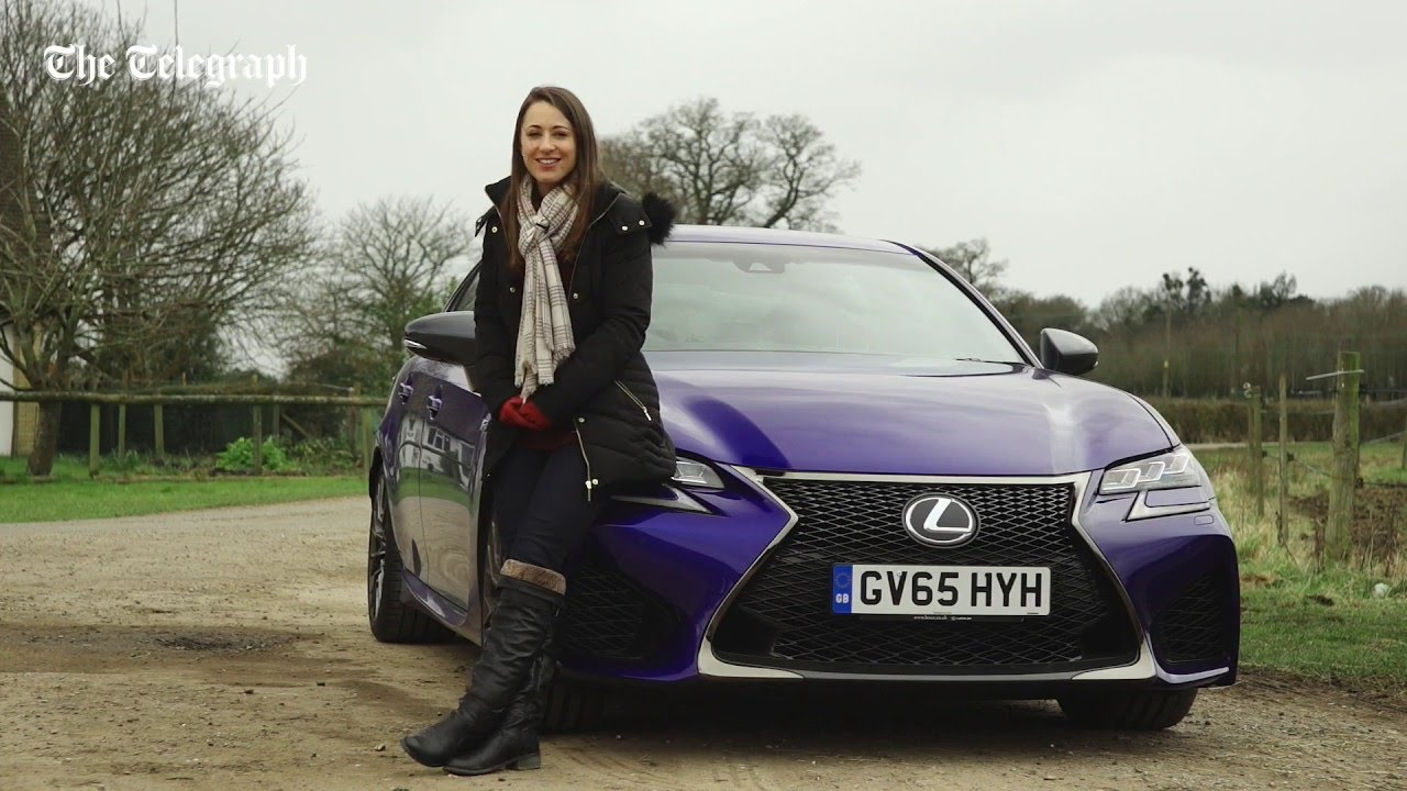 Lexus GS F 2016 review | TELEGRAPH CARS - YouTube