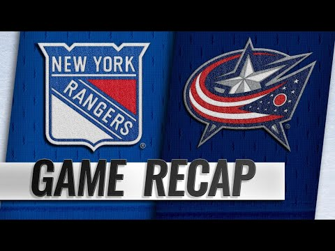 Foligno leads Blue Jackets to 7-5 win against Rangers