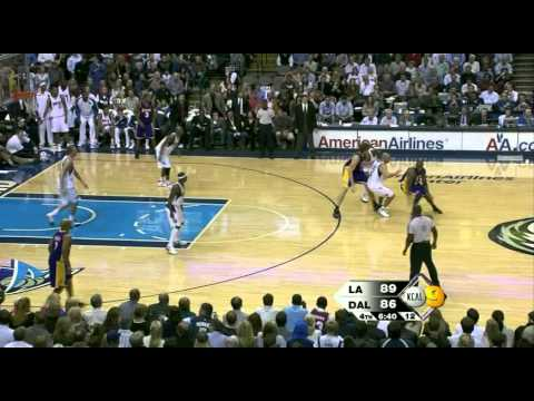 11 11 2008   Lakers vs  Mavericks   2nd Half Highlights