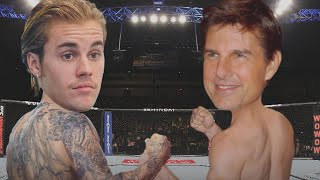 Justin Bieber Says Tom Cruise Would 'Whoop My A**' in a Fight