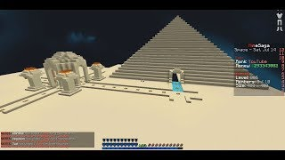 THE PYRAMID OF VALUABLES...   Minecraft Skyblock