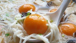 福清番薯丸 ~ 福清人的传统美食❤ How to make Sweet potato balls *4K   #littleduckkitchen