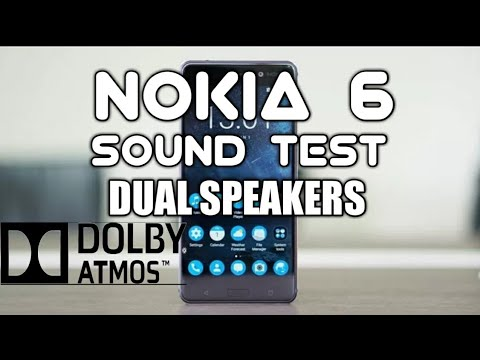 Nokia 6 Sound Quality Test Dual Speakers / Dolby Atmos / Hindi