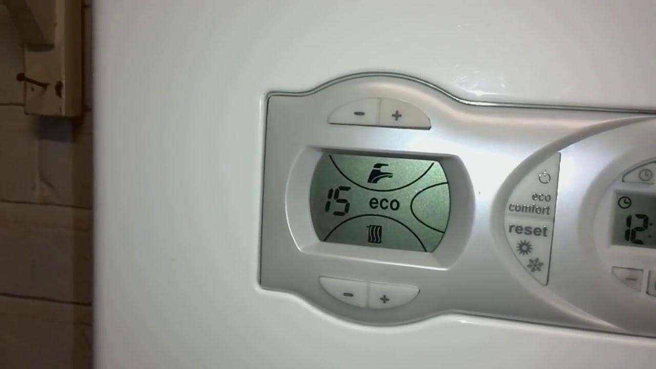 How to use a ferroli he boiler youtube for Ferroli domicondens f24