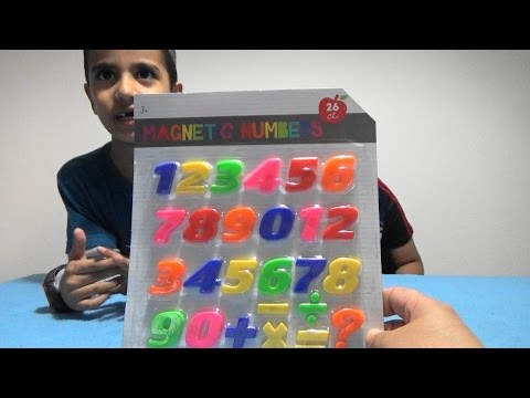 Learning Numbers with magnets