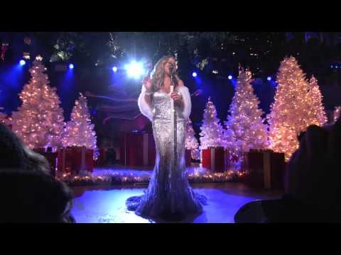 Mariah Carey Christmas in Rockefeller Center 2012.