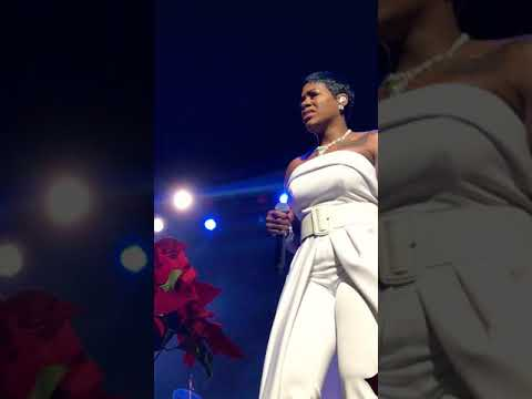 Fantasia Christmas After Midnight Tour Hallelujah/Holy by Fantasia
