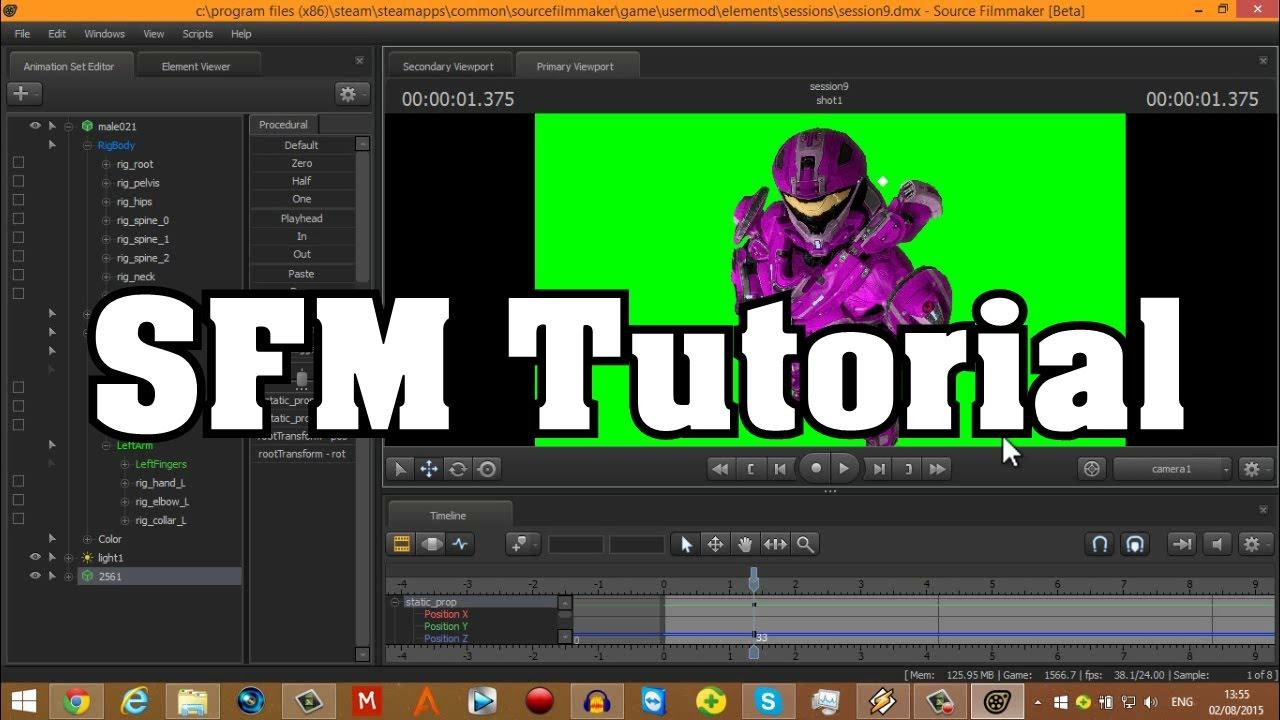 Sfm tutorial the basics youtube baditri Gallery