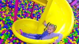 Fun Outdoor Playground for kids | Entertainment for Children Play Center thumbnail
