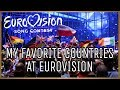 MY FAVORITE COUNTRIES AT EUROVISION   TOP 46 2009-2018