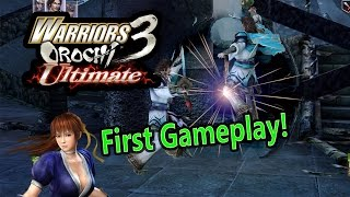 Warriors Orochi 3 Ultimate First Gameplay and Reaction!! (English Version)