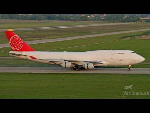 Boeing 747-400 OM-ACB Air Cargo Global