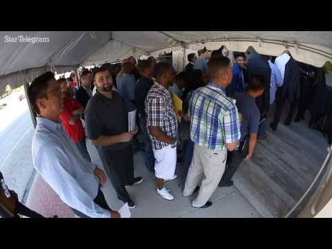 Lockheed Martin Aeronautics job fair draws thousands