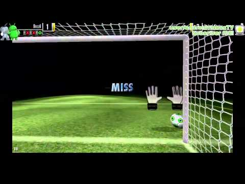 Soccer down 2014 Android Gameplay 2