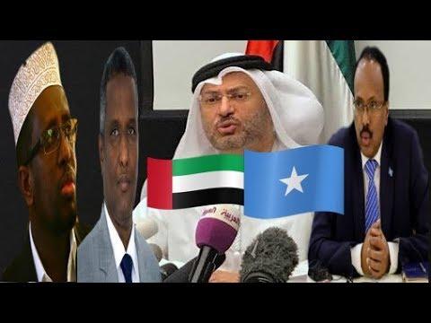 Deg Deg Dowlada Imaaradka oo Markale Ka Hadashay Khilaafka Siyaasadeed ee Somalia iyo Imaaradka ka D