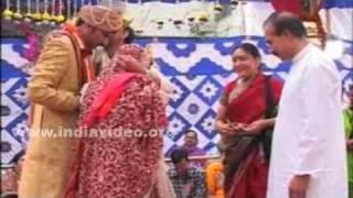 Bride and Groom Seek Blessings, Orissa