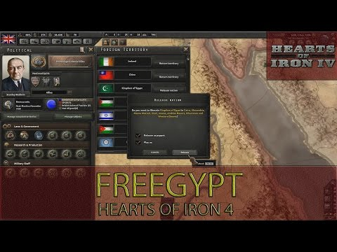 Hearts Of Iron 4 - Freegypt Achievement Guide