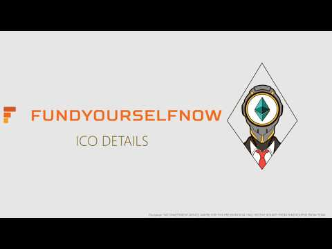 ICO details of FUNDYOURSELFNOW (FYN tokens, changes in ICO)
