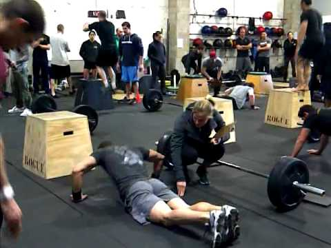 CrossFit Hell\'s Kitchen Sectionals-Week 2--Chris.3GP - YouTube