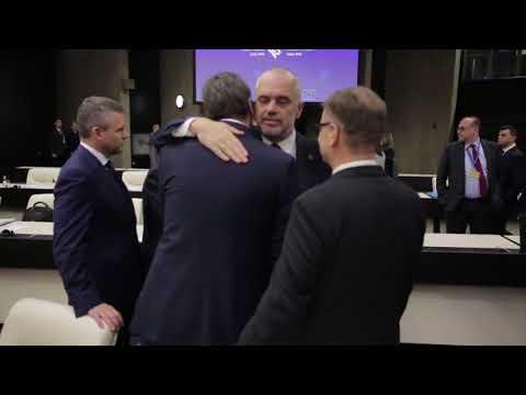 Edi Rama Shqipëria në BE