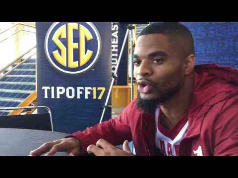 Corban Collins on playing for Avery Johnson