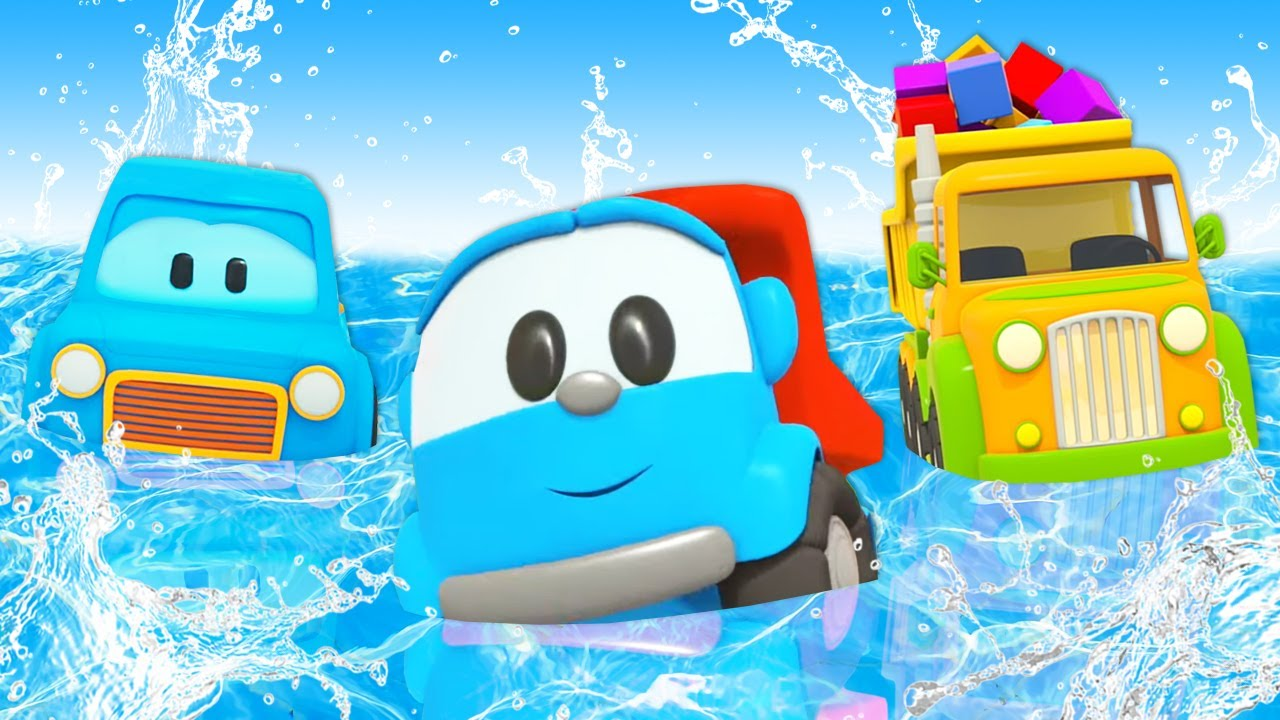 Car cartoons for kids - Leo the Truck & Clever cars full episodes cartoons for babies.