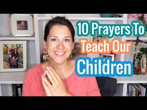 Catholic Prayers All Children Should Know