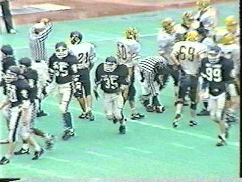 East Lansing High School Football vs South Lyon 1991