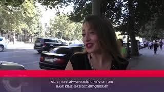 """""""Azərbaycandan danışırsız ee. Məmurların uşaqları əsgərlik çəkəndir?!"""""""