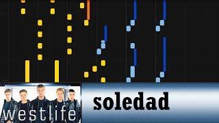Westlife - Soledad (piano arrangement)