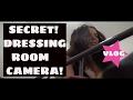 SECRET CAMERA in dressing room vlog